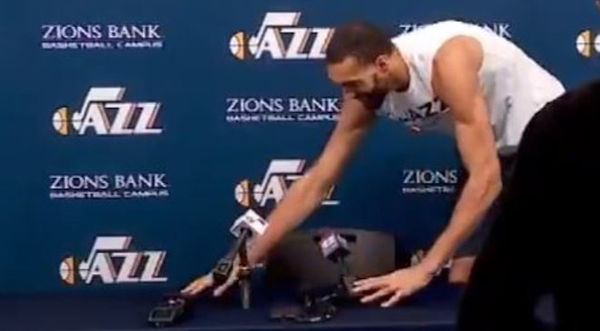 Utah Jazz Players Said To Be Highly Frustrated With Rudy Gobert