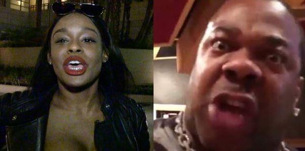 Azealia Banks Threatens To Expose Busta Rhymes