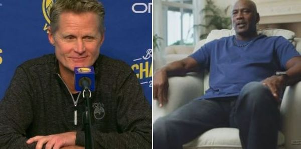 Steve Kerr Explains How Fistfight With Michael Jordan Changed Their Relationship