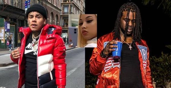 Tekashi 6ix9ine's New BM Exposes Chief Keef For Trying To Use Her To Get Back At 69
