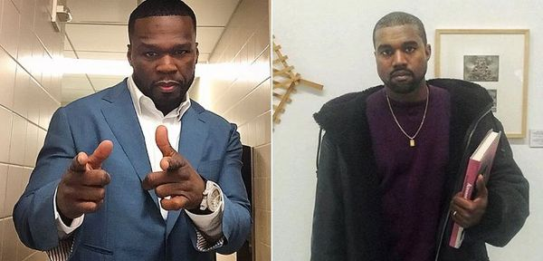 50 Cent Clowns Kanye West's New Yeezys