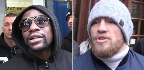 Floyd Mayweather Comments On Whether He'll Fight Conor McGregor MMA Style