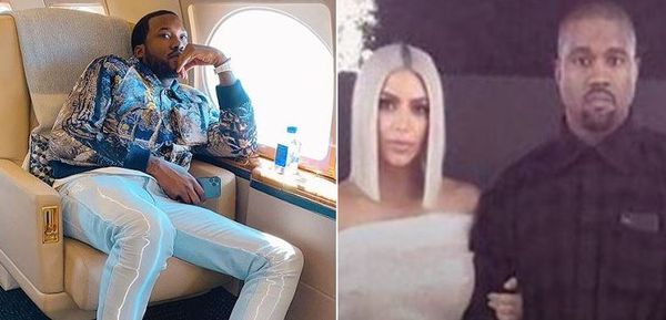 There's a Photo Of Meek Mill & Kim Kardashian On The Day Kanye thinks they Hooked Up