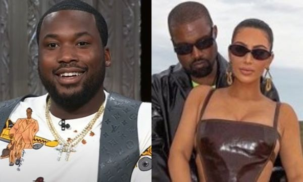 Meek Mill Responds to Kanye's Theory That He Smashed Kim Kardashian