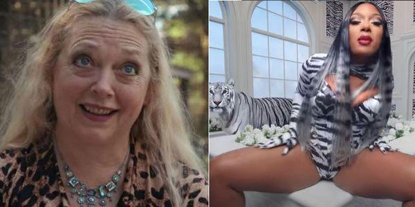 Carole Baskin Comes For Megan thee Stallion & Cardi B