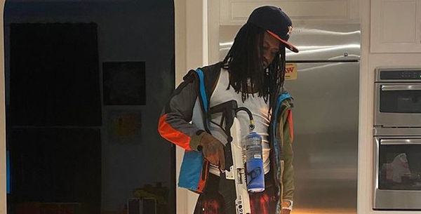 Chief Keef Shows Off His Flame Thrower [VIDEO]