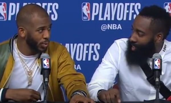 Chris Paul Updates His Relationship With James Harden
