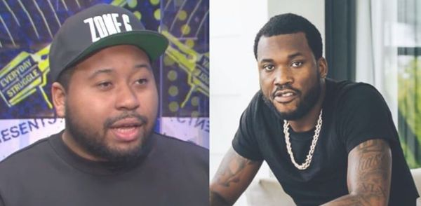 DJ Akademiks Taunts The Hell Out Of Meek Mill; Challenges Him to A Fight