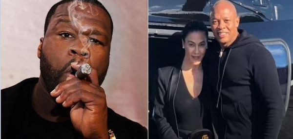 50 Cent Reacts to Dr. Dre's Wife Demanding Millions A Month in Spousal Support