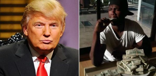 50 Cent Weighs In On Donald Trump Being The Fakest of Billionaires