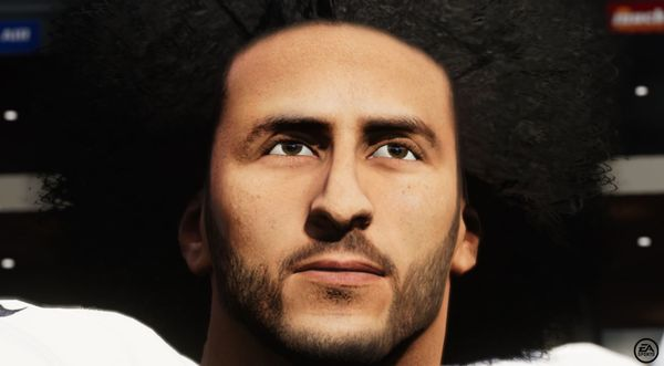 Colin Kaepernick Added To Madden '21 & Given High Rating