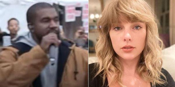 Kanye West Blames God For Taylor Swift VMA Incident