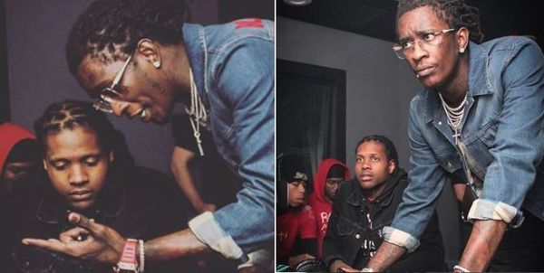 Lil Durk Finally Reveals What Young Thug Was Showing Him In Notorious meme