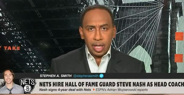 Stephen A. Smith Says Steve Nash Net's Hiring is White Privilege; NBA Twitter Debates