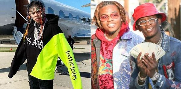 Tekashi 6ix9ine flaunts Gunna When Young Thug Calls Out Rats