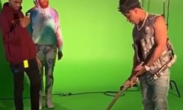 Watch YFN Lucci Fire Gun on Video Set, Young Thug Weighs In