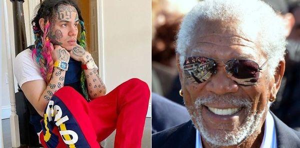21 Savage Got Morgan Freeman To Diss Tekashi 6ix9ine On 'Savage Mode 2'