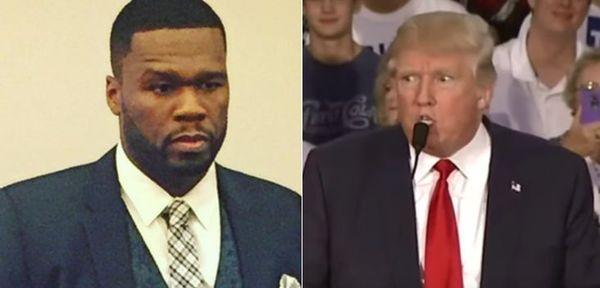 50 Cent Clowns [Maybe] MAGA Supporter for Walking Right Into Pole [VIDEO]