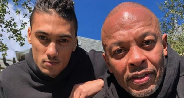 Dr. Dre Gets Matching Tattoos With His Son