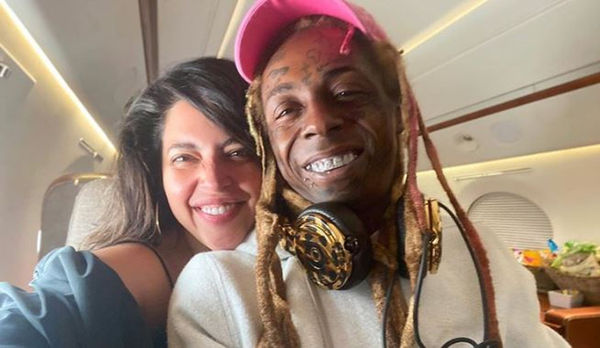 Lil Wayne Is Back On With Denise Bidot