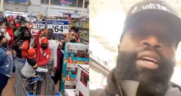 Rick Ross Shuts Down Multiple Walmarts To Host Toy Drives