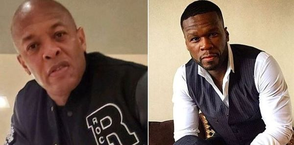 50 Cent Reacts To Robbers Targeting Dr. Dre's Home When He's In The Hospital