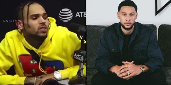 Chris Brown Goes Nuts After Being Compared to Ben Simmons