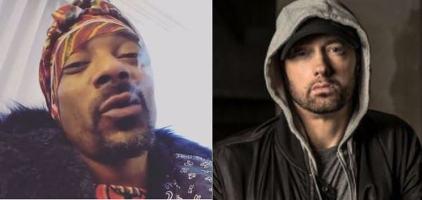 Snoop Dogg Gives An Update On Relationship With Eminem Amid Beef