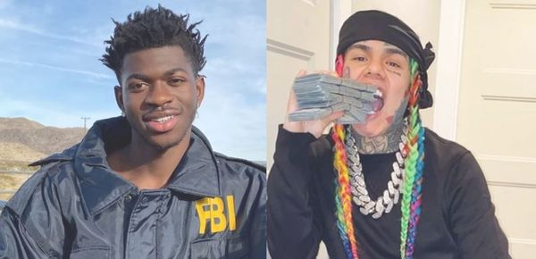Tekashi 6ix9ine Caught Sliding Into Lil Nas X's DMs