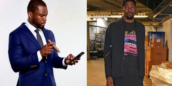 50 Cent Is In Shock After Kevin Durant's Coinbase Valuation