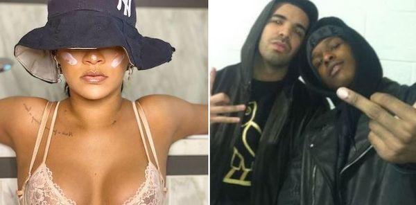 Drake, A$AP Rocky & Rihanna All Spotted Hanging Out
