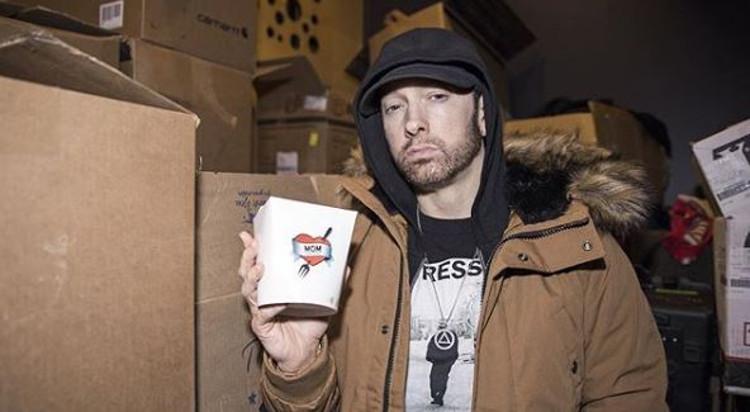 Eminem Opens Mom's Spaghetti Restaurant In Detroit :: Hip ...  Eminem And His Mother