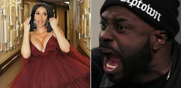 Funk Flex Goes In On Cardi B
