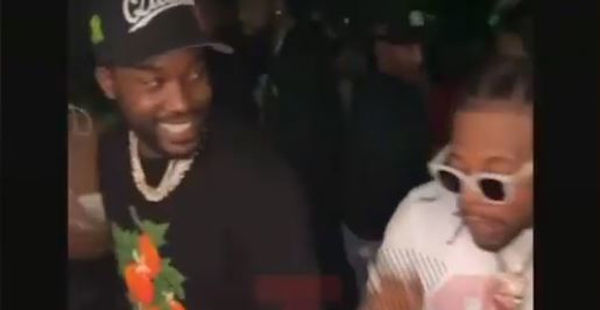 Watch Meek Mill & Rowdy Rebel Have a Dance Off