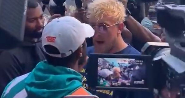 Watch Floyd Mayweather & Jake Paul Brawl
