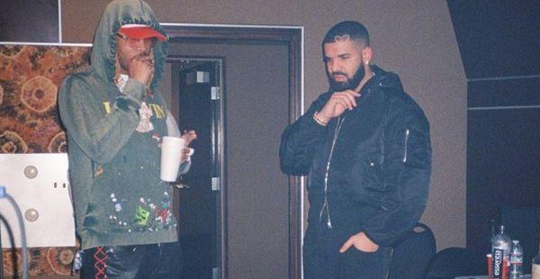 Drake And Future got Something Cooking