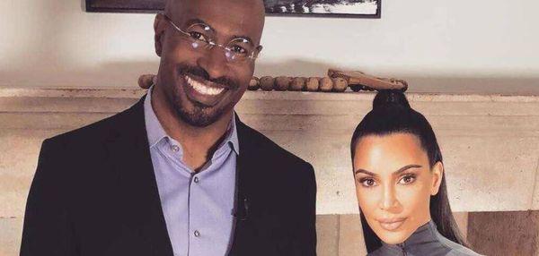 Kim Kardashian Speaks On Rumors Of Dating Van Jones