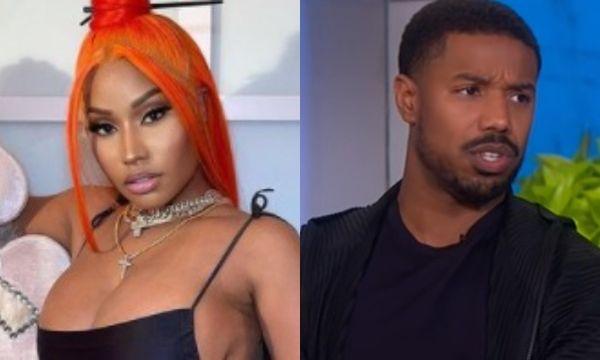 Nicki Minaj Tells Michael B. Jordan To Change The Name His Rum Because It's Offensive