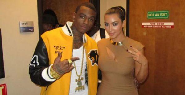Soulja Boy Shoots His Shot At Kim Kardashian