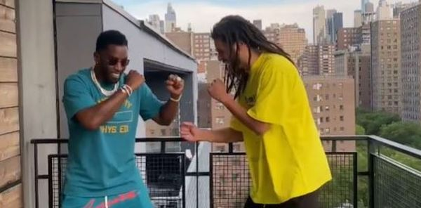 Watch J. Cole & Diddy Reenact Their 2013 Fight