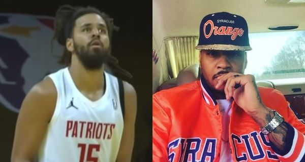J. Cole Works Out With Carmelo Anthony [Video]