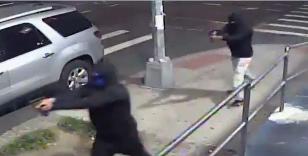 Watch Two Men Shoot Ten In Queens Attack & Then Escape On Scooters