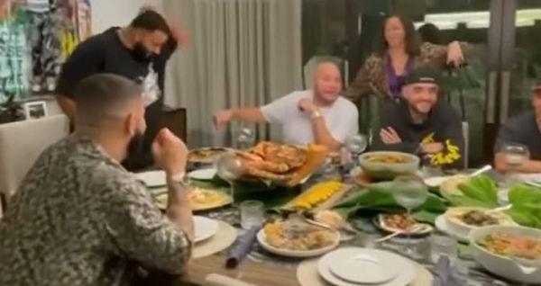 Watch DJ Khaled Treat Drake and Fat Joe To Amazing Meal