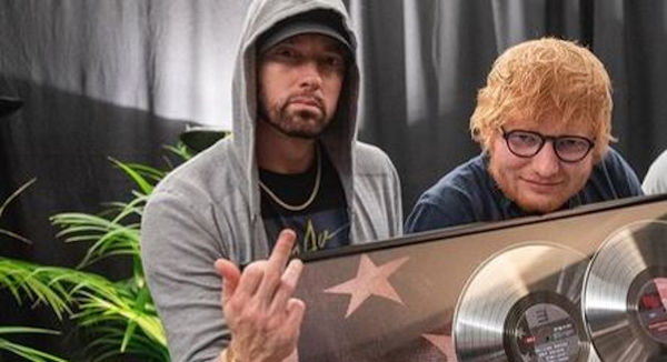 Eminem and Ed Sheeran Geek Out Over The Same Things
