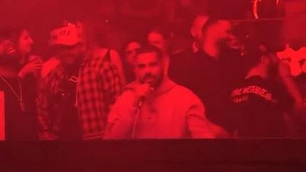Fake Drake Grabs The Mic at South Beach Hotspot & Explains God Plans For Him
